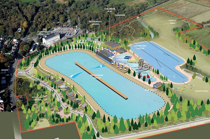 Construction of Surf Snowdonia begins in Wales