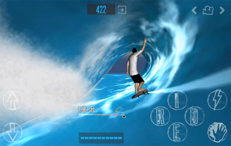 YouRiding's The Journey: a surfing game with 300 real surf spots