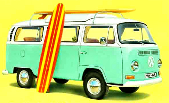 Surf vans: you don't need anything else