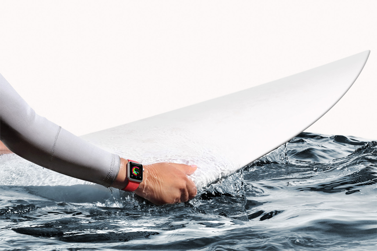 Surf watches: featuring swell and wind forecast, tides, and moon phases
