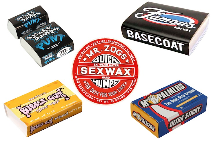 Surf wax: the best brands never lose grip