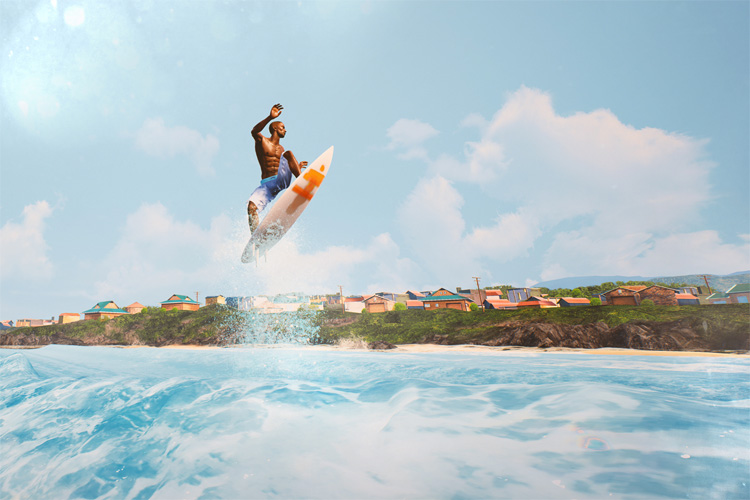 Surf World Series: the first surfing video game since Kelly Slater's Pro Surfer (2002)