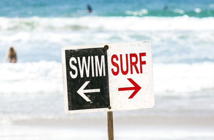 Beaches: should there be a zone for swimmers and an area for surfers? | Photo: Shutterstock