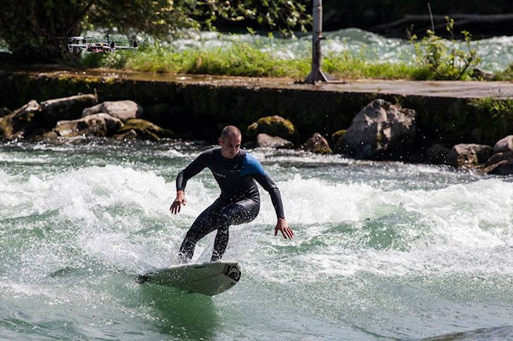 Switzerland: who said you can't ride waves here?