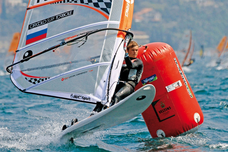 Techno 293: the Optimist of windsurfing