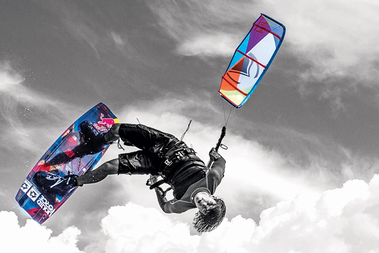 Christophe Tack: kite trick inventor | Photo: Liquid Force