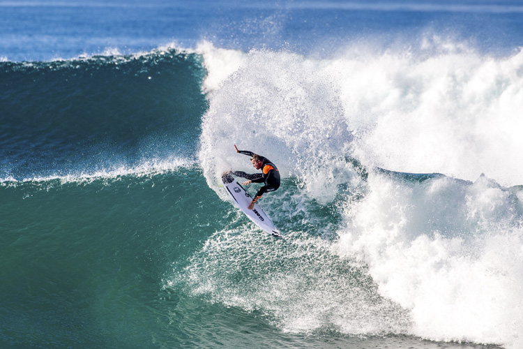 Taj Burrow: drawing lines | Photo: Trevor Moran/Red Bull