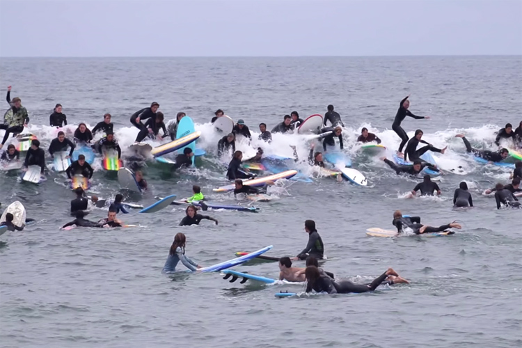 Tamarack Takeover: an organized surfing chaos