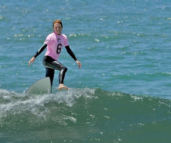 Tanna Frederick: new surf trick