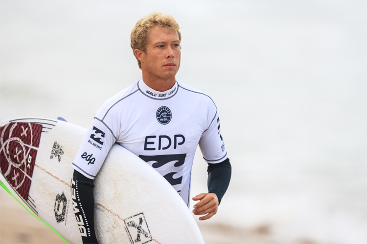 Tanner Hendrickson: he got involved in a fight with Michael Rodrigues | Photo: Poullenot/WSL