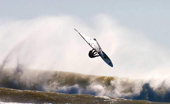 Taranaki: the god of windsurfers live here