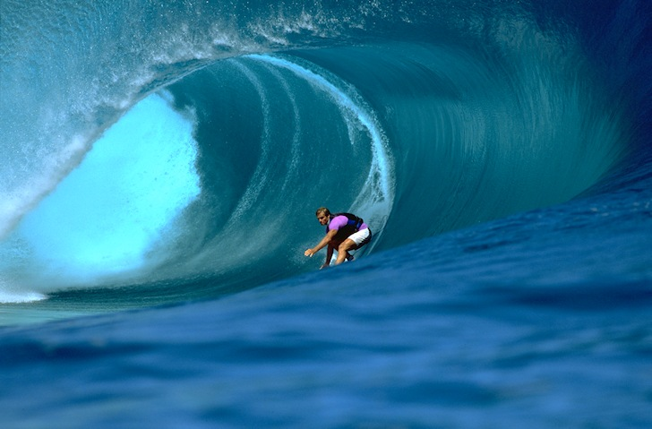 Teahupoo: the Tahitian wave mastered by Laird Hamilton