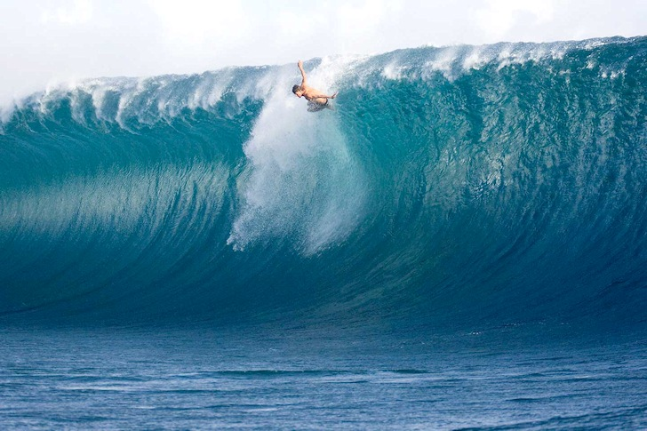 Teahupoo: Bruce Irons is ready to taste the Tahitian reef