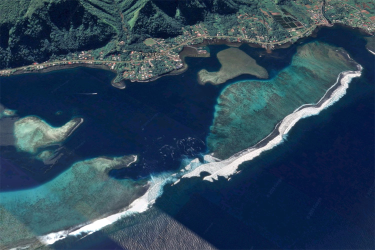The End of the Road: a South Pacific reef pass that produces life-threatening waves
