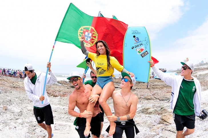 Five flags win gold medals at the 2014 ISA World Bodyboard Championship