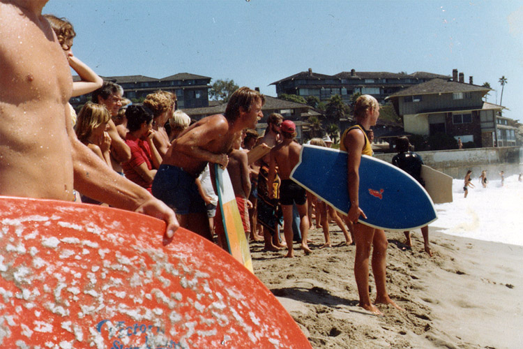 Tex Haines: he co-founded Victoria Skimboards in 1976 | Photo: Victoria Skimboards