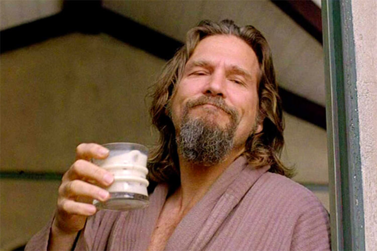 The Dude: Jeff Bridges plays the ultimate carefree character in the 1998 film 'The Big Lebowski'