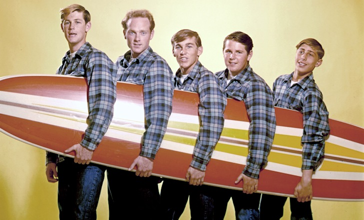 The Beach Boys: the surfer dudes