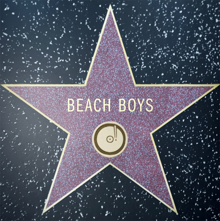 The Beach Boys: awarded a star on the Hollywood Walk of Fame on December 30, 1980