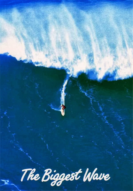 The Biggest Wave: a best-selling postcard of Hawaii featuring Ace Cool