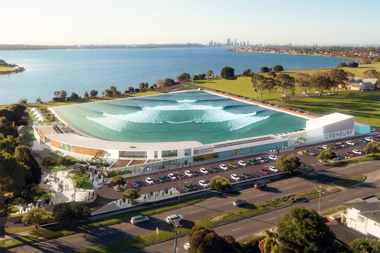 Urbnsurf: the Australian surf pools powered by the new Wavegarden technology | Photo: Urbnsurf