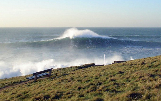 The Cribbar, Cornwall: first surfed in 1966