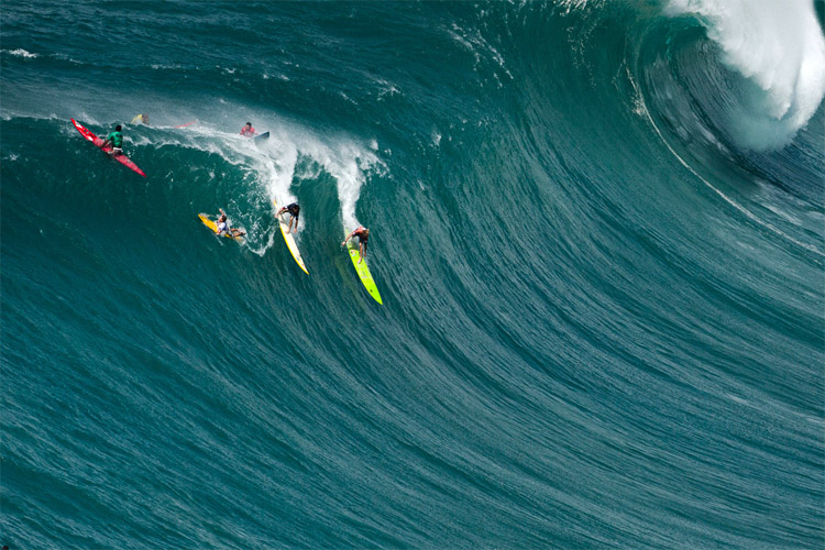 The Eddie: the event will not have Quiksilver as major sponsor | Photo: Quiksilver