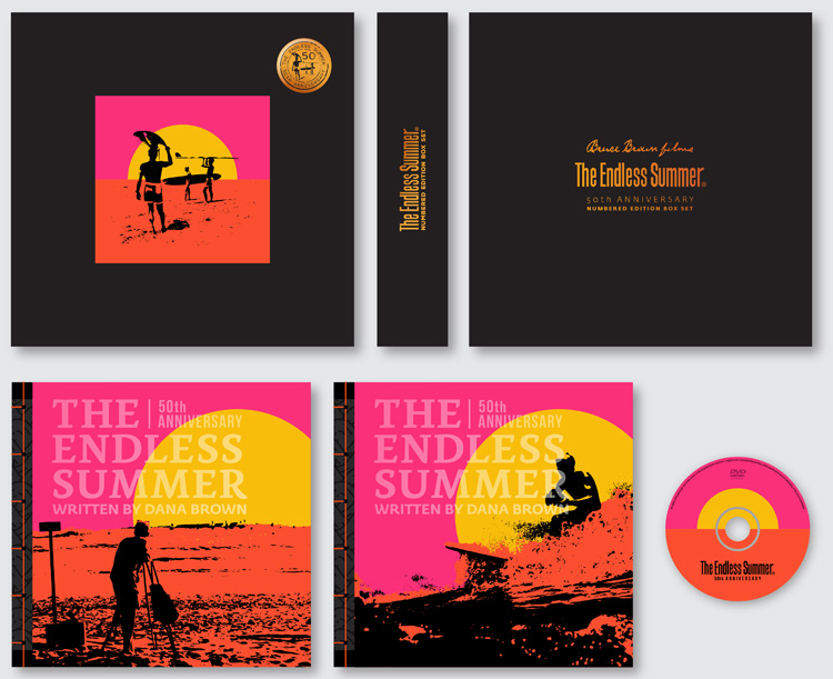 The Endless Summer: 50th Anniversary: a 236-page, signed and exclusive numbered edition book