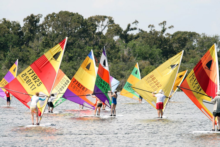 The Original Windsurfer: a modern-day regatta | Photo: TheOriginalWindsurfer.com