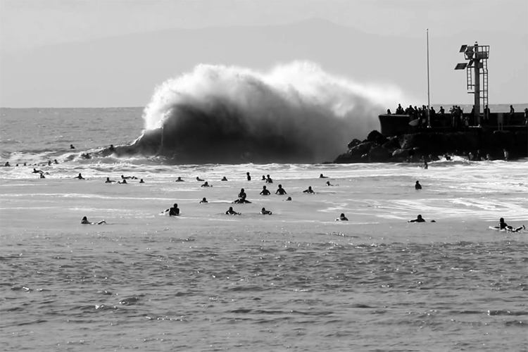 The Sandspit: Santa Barbara's iconic surf break