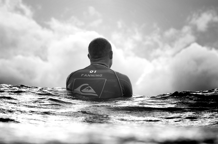 Mick Fanning: fine-tuning the mindset | Photo: Quiksilver