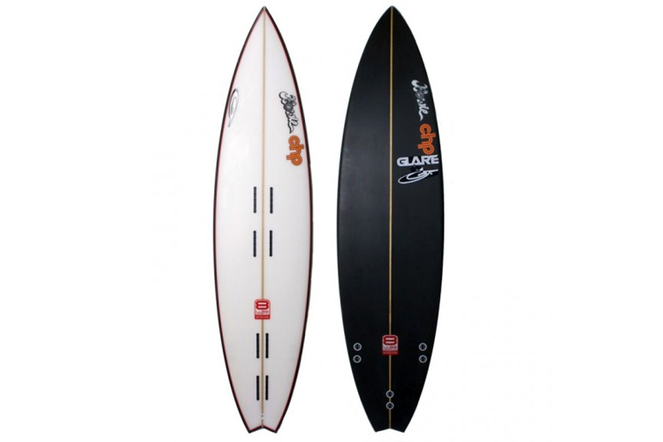 The Tow-In Board: a specific surfboard for jet-ski-assisted big wave surfing | Photo: Howie Shapes