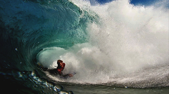 The Viking: cold bodyboarding