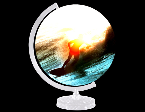 The World in the Curl: surfers rule the planet