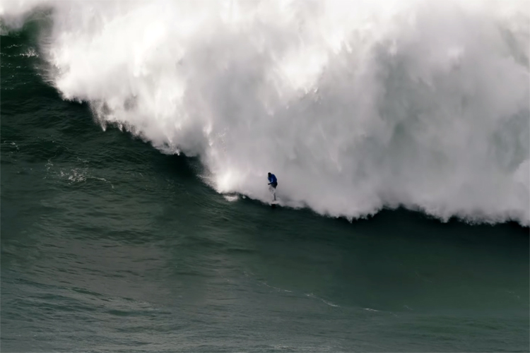 Thiago Jacaré: the Brazilian suffered one of the worst beating ever at Nazaré