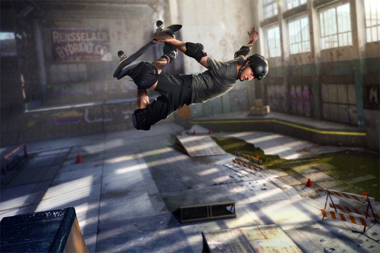 THPS 1+2: a stunning remaster of the 1999 video game