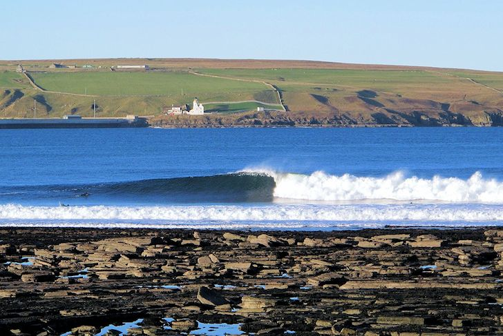 Thurso East: Scotland's most famous wave