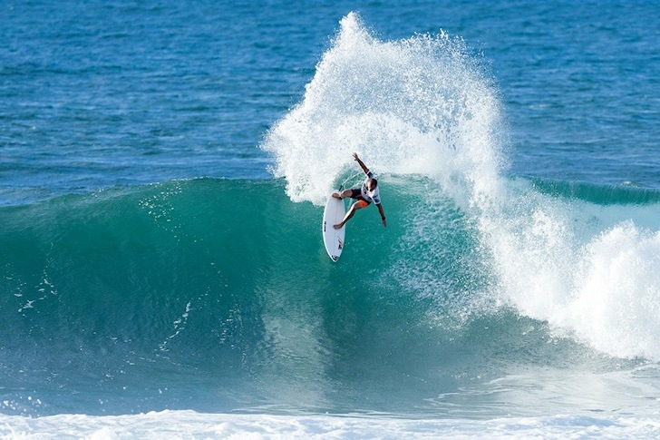 Tiago Pires: leading the Portuguese contingent | Photo: ASP/Cestari