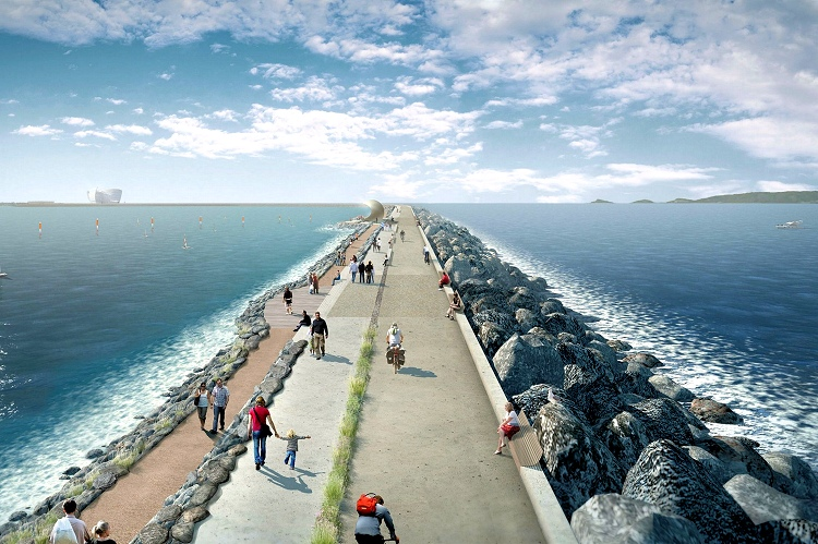 Tidal Lagoon at Swansea Bay: citizens will have a brand new 9.5 kilometer-long causeway | Photo: Tidal Lagoon Power