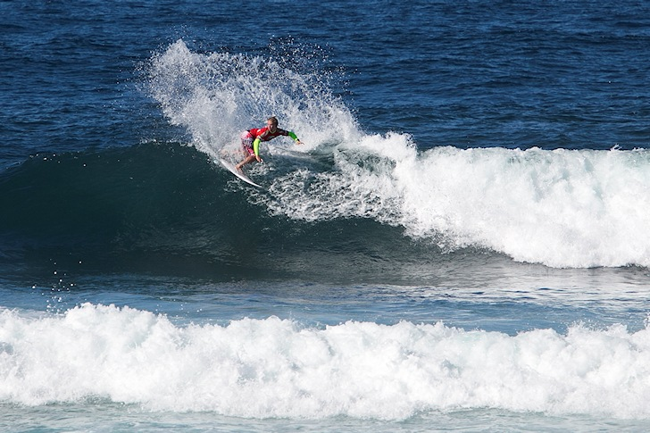 Tim Bisso: a French star in the making | Photo: Eurosurf Junior 2014