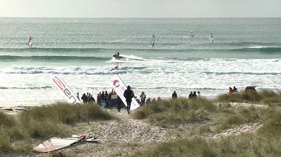 Tiree Wave Classic: water patrol sighted