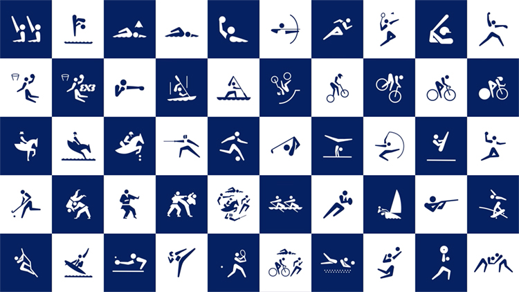 Tokyo 2020: the official sport pictograms were designed by Masaaki Hiromura