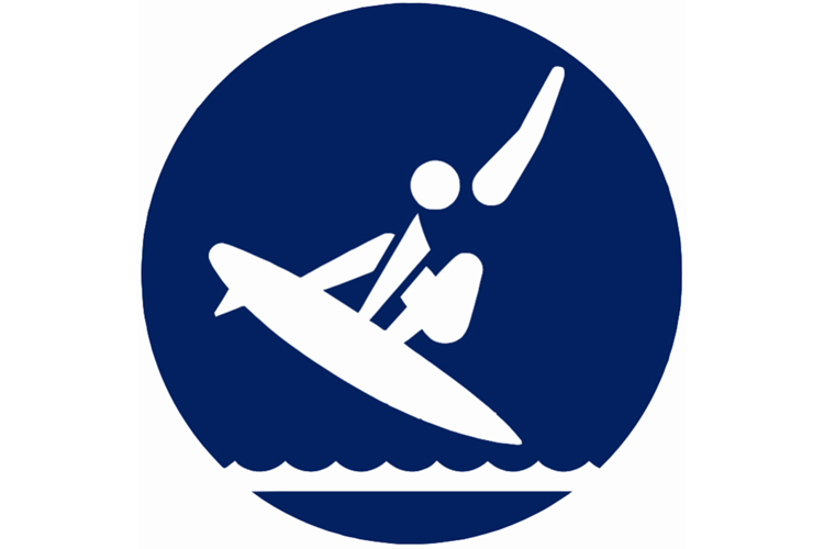 Tokyo 2020: the official surfing pictogram for the Olympic Games