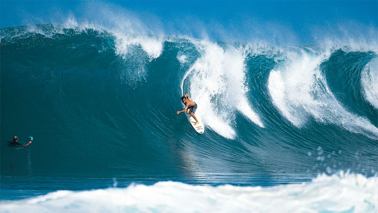 Tom Curren: the regular footer won three world surfing titles | Photo: Rip Curl