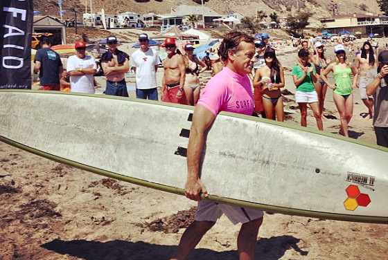 Tom Curren: taking his boat to the waters of Malibu