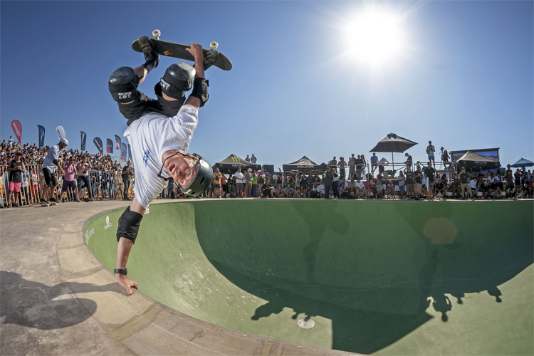 Tony Hawk: he was the first to land a 900 | Photo: TonyHawk.com