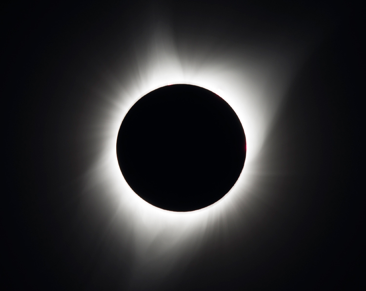 Solar eclipse: the only moment human eyes can see the sun's corona | Photo: Creative Commons