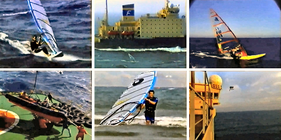 TransAtlantic Windsurf Race: as masterminded by Louie Hubbard