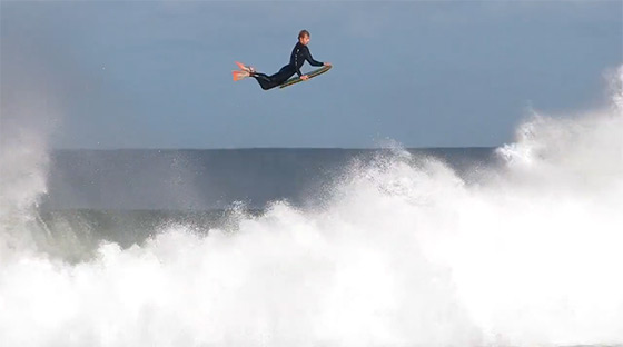 'Traverse': bodyboarding airlines