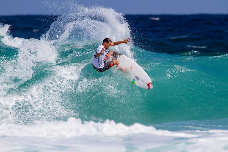 Travis Logie: agile, versatile and fast | Photo: ASP/Smorigo
